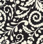 "Free Spirit DF77Black 15 Yard Bolt @ 7.99 a Yard  McKenzie 100% Cotton 45"" Wide"