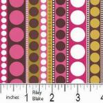 "Riley Blake Designs 15Yd Bolt 7.34 A Yd C8514 P Pink Enchant Garden Rows of Dots100%Cotton45""Fabric"