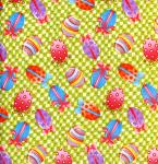 """Free Spirit HM 35 Lime15 Yard Bolt @ 7.34 A Yard Easter Collection 100% Cotton 45"""" Wide"""