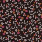 Fabric Finders 15 Yd Bolt 9.34 A Yd 983 Black / Raspberry 100% Pima Cotton 60 inch Fabric