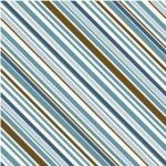 """Riley Blake Designs 15Yd Bolt 7.34 A Yd C7027-Blue Stripes 100% cotton pattern  45"""" Fabric"""