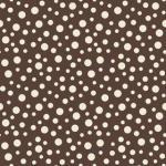 "Riley Blake Designs 15Yd Bolt 7.34 A Yd C8502 Brown Dots 100% Cotton pattern 45""Fabric"