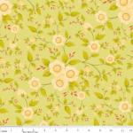 "Riley Blake Designs 15Yd Bolt 6.67A Yd C4501 Green Daydream Floral 100%Cotton pattern 45""Fabric"