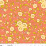 "Riley Blake Designs 15Yd Bolt 6.67A Yd C4501 Tomato Daydream Floral 100%Cotton pattern 45""Fabric"