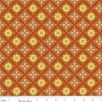 """Riley Blake Designs 15Yd Bolt 6.67A Yd C4502 Caramel Daydream Bandana 100% Cotton pattern 45""""Fabric"""
