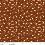 """Riley Blake Designs 15Yd Bolt 6.67A Yd C4503 Brown Daydream Petite Floral 100% Cotton  45""""Fabric"""