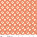 "Riley Blake Designs 15Yd Bolt 6.67A Yd C4504 Tomato Daydream Trellis 100% Cotton  45""Fabric"