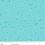 Riley Blake Designs 15Yd Bolt 7.34 A Yd  C5503 Blue Happier  Floral