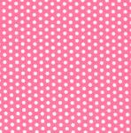 "Fabric Finders 15 Yd Bolt 9.34 A Yd FF1022 White Dots on Pink 100% Pima Cotton 60"" Fabric"