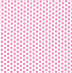 "Fabric Finders 15 Yd Bolt 9.34 A Yd FF1023 Pink Dots on White 100% Pima Cotton 60"" Fabric"