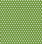 "Fabric Finders 15 Yd Bolt 9.34 A Yd #1029 White Dots on Green 100% Pima Cotton 60"" Fabric"