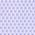 "Fabric Finders 15 Yd Bolt 9.34 A Yd #1037 Purple Floral 100% Pima Cotton 60"" Fabric"
