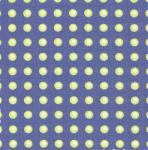 "Fabric Finders 15 Yd Bolt 9.34 A Yd FF1014 Chartreuse Dots on Blue   100% Pima Cotton 60"" Fabric"