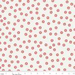 """Riley Blake Designs 15Yd Bolt 7.34 A Yd C2525 Red Sew Daisy 100% Cotton  45""""Fabric"""