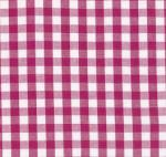 Fabric Finders 15 Yd Bolt 9.34 A Yd Magenta 1/4 in.  Gingham Check 100% Pima Cotton Fabric
