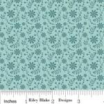 "Riley Blake Designs C2704 Blue So Sophie Floral 15Yd Bolt 7.34 A Yd 100% Cotton 45""Fabric"