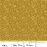 "Riley Blake Designs C2704 Gold So Sophie Floral 15Yd Bolt 7.34 A Yd 100% Cotton 45""Fabric"