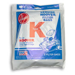 Hoover 4010028K 3Pk Paper Dust Bags, Type K Canister Spirit Vacuum Cleaner