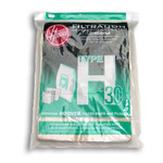 Hoover H-40101001 Paper Bag, H-30 5Pk W/1  Secondary 2 Final Filters