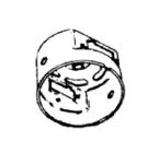 Hoover H-42937003 Housing, Motor Upper     Portapower/Spirit