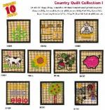 Amazing Designs 2035 Country Quilt I Embroidery Disks