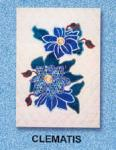 Dalco European Flowers Applique Designs - Clematis