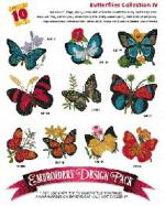 Amazing Designs / Great Notions 2046 Butterflies IV Multi-Formatted CD