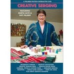 Palmer Pletsch, Creative Serging, Parts I & II, Based on, Serger Idea Book. on a single, DVD Video, 2 Hours, Featuring, Marta Alto, with Pati Palmer