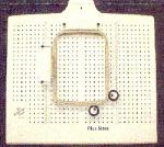 ABC Embroiderer's Friend PLUS Size Hoop Placement Form for Machine Embroidery