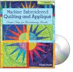 Designs in Machine Embroidery BK00113 Machine Embroidered Quilting and Applique Book by Eileen Roche