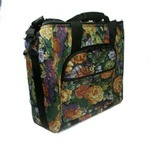 "PD60, P78007, Embroidery, Arm, Tote, Bag, Tapestry, Fabric, 18"", 6"", 17"", Inches"