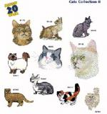 Amazing Designs 1243 Cats II Embroidery Disk