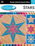Sarah Vedeler USB-008 Stars Design Collection Embroidery Designs USB Stick