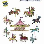 Amazing Designs / Great Notions 1246 Carousel Horses I Multi-Formatted CD