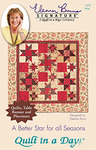 Quilt in a Day by Eleanor Burns A Better Star for all Sewing Pattern