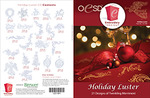 OESD 12319H Holiday Luster Design Collection Multiformat Embroidery Design CD