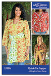 Indygo Junction Quick-Tie Topper Sewing Pattern