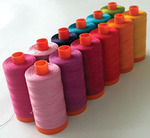 Aurifil Sarah Vedeler SV-5012 Silk Hearts Thread Collection Kit 12 Large Spools x 1422 Yards Each, Cotton Mako 50wt