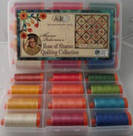 Aurifil SPS1212, Sharon Pederson, Sashiko Thread, Collection, Thread Kit, 12 Colors, of 12wt Thread