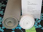 "Steady Betty DIY 24x60"" Ironing Board Cover Kit, Fabric, Cords, Instructions"