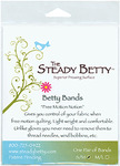 "Steady Betty BBS/M Palm Bands 1 Pair 1.5""Wide, Small Medium, Free Motion"