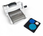 46041: Sizzix EED661580 Big Shot Fabric Die Cutter Machine, Extended Platform, Cutting Pads