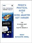 Penny Muncaster-Jewell Practical Guide 470Pg Book and CD to Brother PE Design 9 NEXT Embroidery Digitizing Software