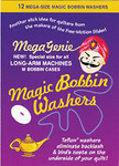 Mega Genie 6943A Magic M Bobbin Anti Backlash Washers 12Pk for Longarm