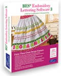 Brother, SABESLET3, BES 3, bes4,  Designer's Gallery, Embroidery Lettering Software +ScanNCut Application October 2014