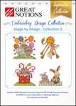 Great Notions Inspiration Collection Image by Design 2 Licenced Multiformat Embroidery Design CD