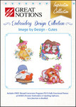 Great Notions Inspiration Collection Image by Design More Cutes Licenced Multiformat Embroidery Design CD