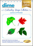 Great Notions #12 Collection Leaves of Wonder Multiformat Embroidery Designs CD