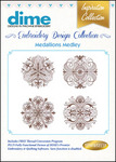 Dime Inspiration #13 Collection Medallions Medley Embroidery Designs Download