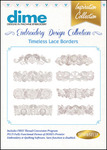 Great Notions #17 Collection Timeless Lace Borders Multiformat Embroidery Designs CD